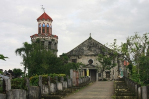 St. Michael's Church in Basey, Samar, constructed in the 17th century by Spanish friars