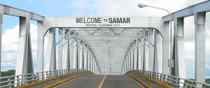 The San Juanico Bridge, connecting Leyte to Samar